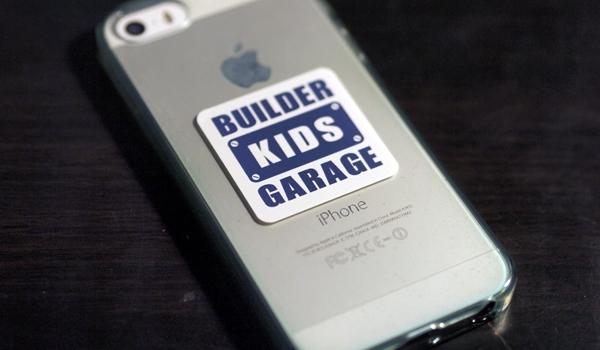 Builder Kids Garageステッカーができました