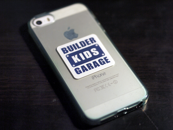Builder Kids Garageステッカー