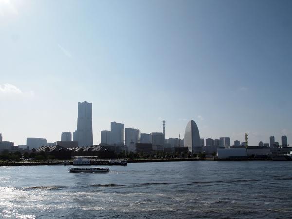 大さん橋からの眺め