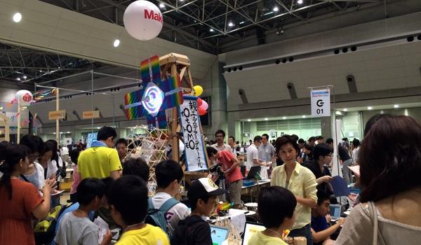Maker Faire Tokyo 2015に行ってきました
